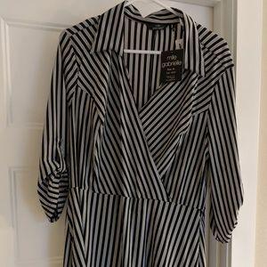 New faux wrap dress size XL